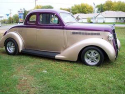 1935 Plymouth Coupe, Street Rod